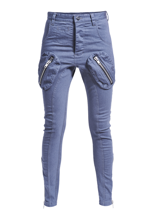 FOREVER UNITED ZIPS JEANS trousers