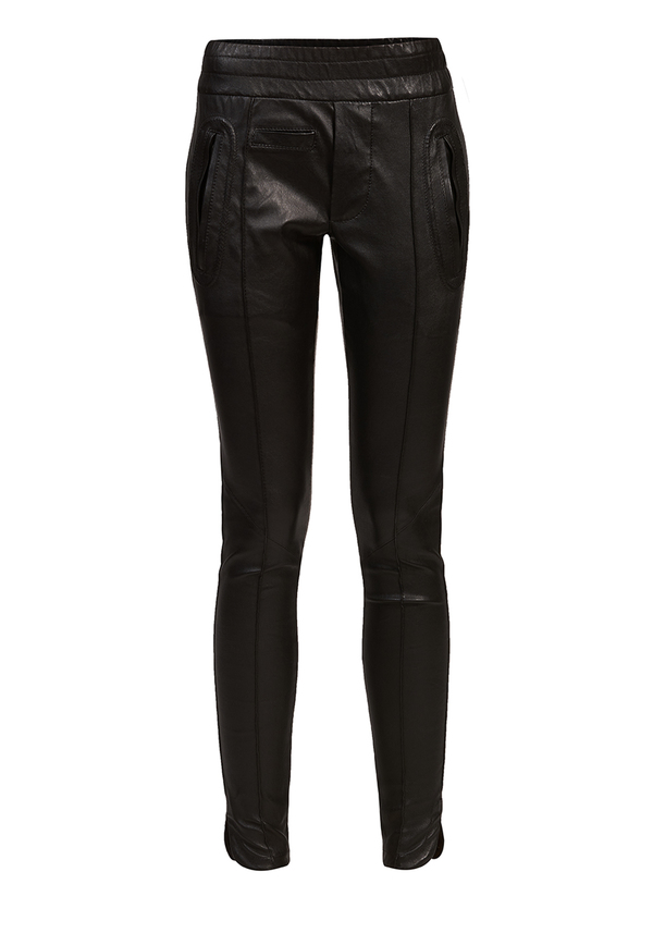 spodnie FOREVER LEGGINGS LEATHER