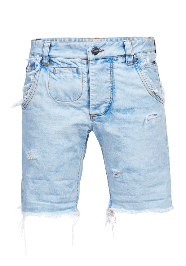 szorty DESERT RIPPED JEANS