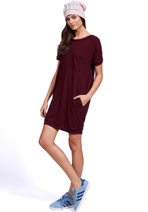 FOREVER T-SHIRT SHORT SLEEVE DRESS