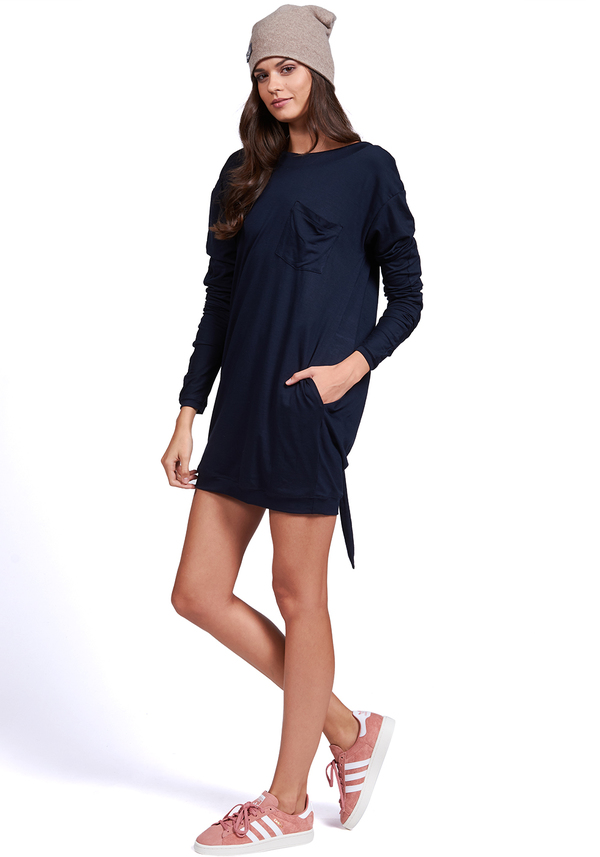 FOREVER T-SHIRT LONG SLEEVE DRESS