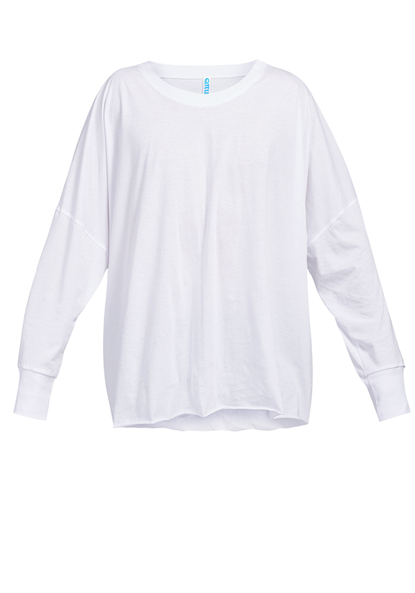 CROWN BOXY LONG SLEEVE t-shirt