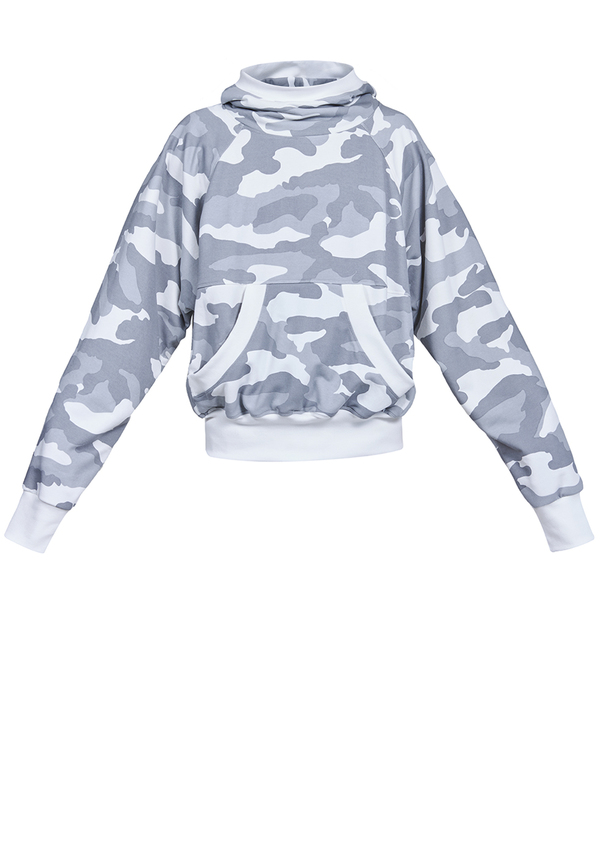 LATINA CAMO SPORTS SWEATSHIRT