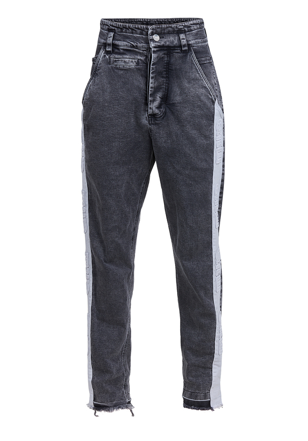 LATINA LOGO JEANS trousers
