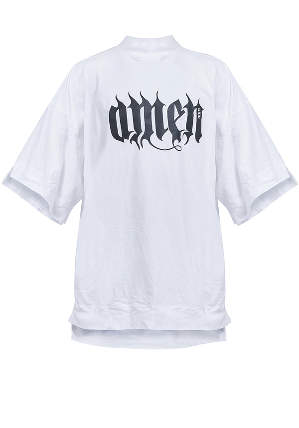 t-shirt ANGEL AMEN COLLAR