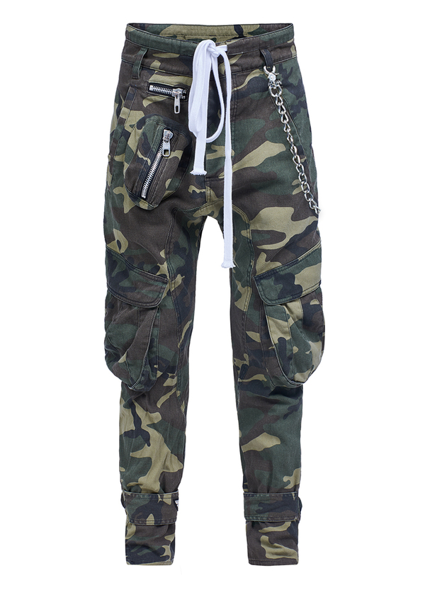 spodnie ANGEL CARGO WINGS CAMO