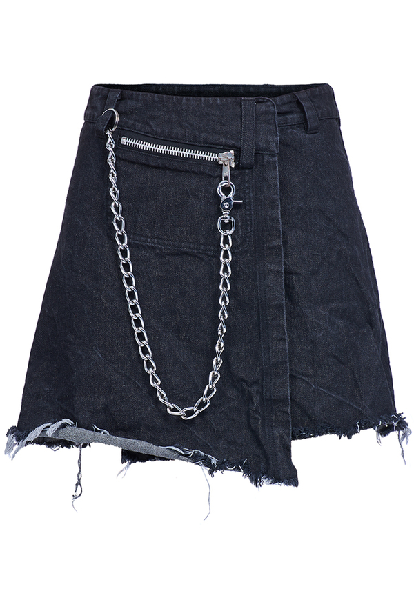 ANGEL WINGS JEANS skirt