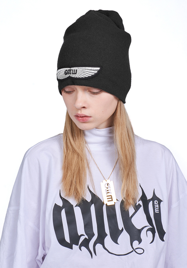 ANGEL WINGS BEANIE