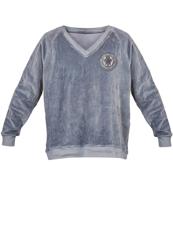 KIDS VELVET V-NECK sweatshirt