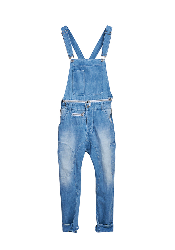 REBORN JEANS overalls