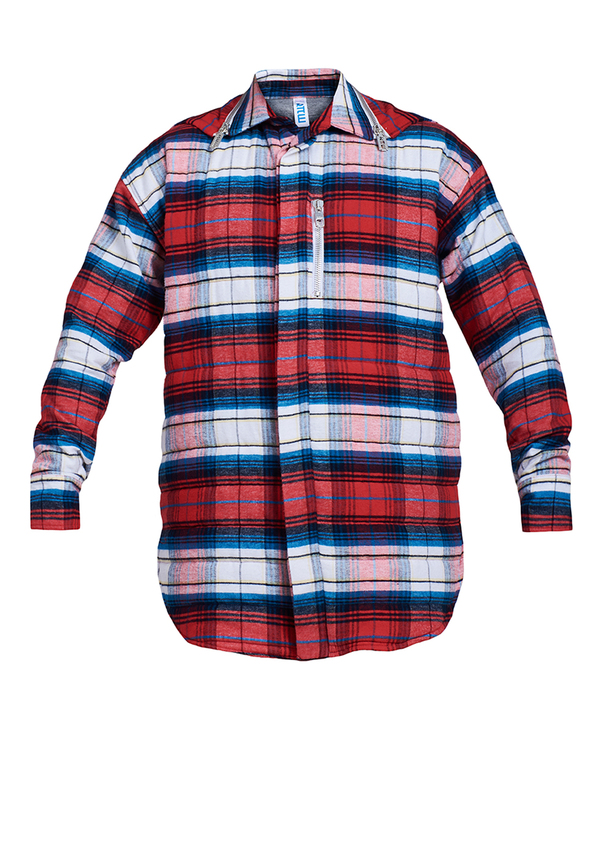 REBORN PADDED FLANNEL SHIRT