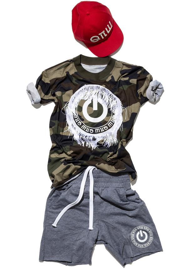 t-shirt KIDS RESTART FRINGE