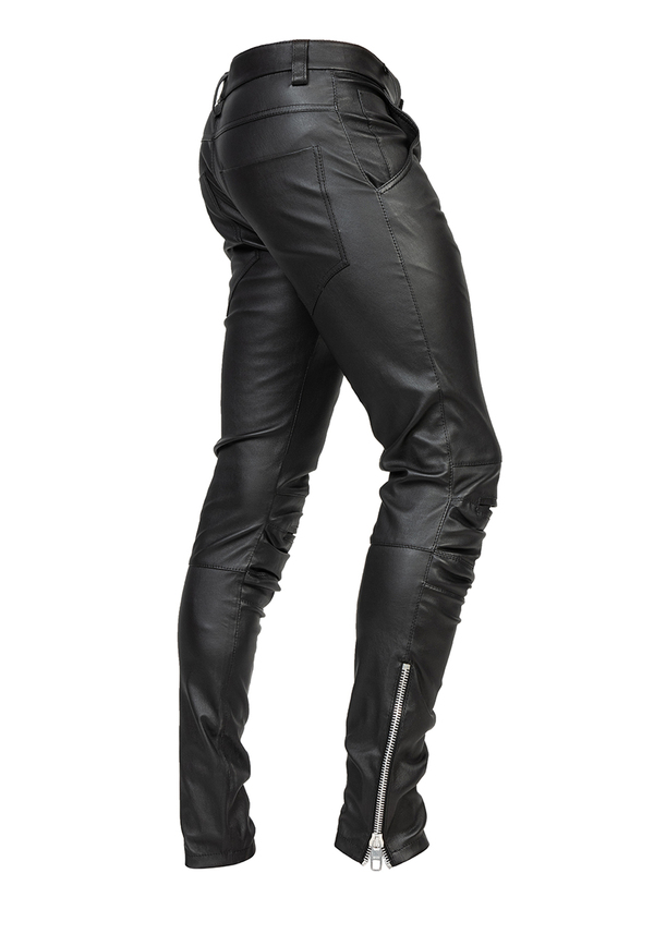 ORIENT LEATHER trousers