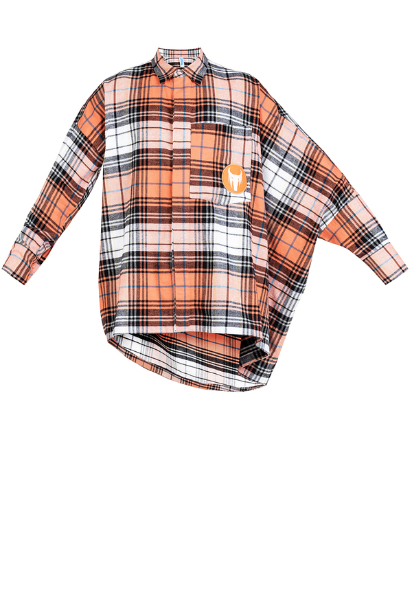 koszula NOW ASYMMETRIC FLANNEL
