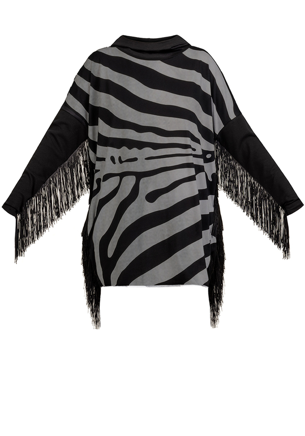 NOW WILD FRINGE dress